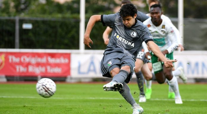 Guilherme znów otworzył wynik meczu z IFK Mariehamn
