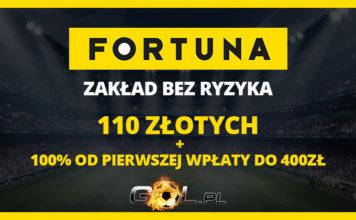 Fortuna - większy bonus dla naszych Czytelników!