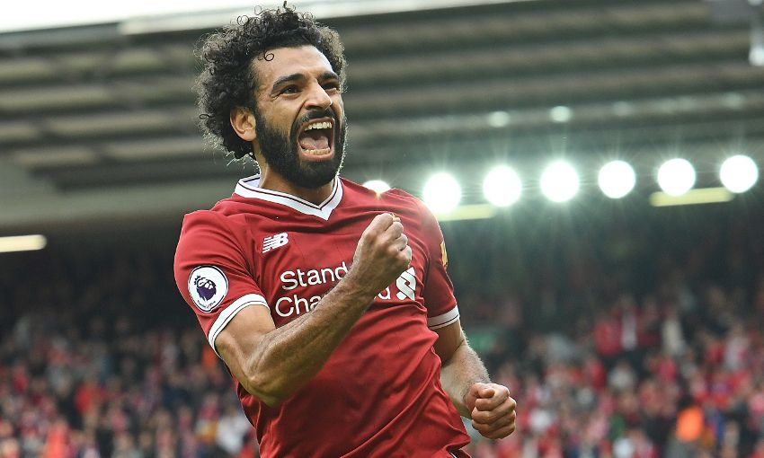 Mohamed Salah - najskuteczniejszy piłkarz Liverpoolu tego sezonu