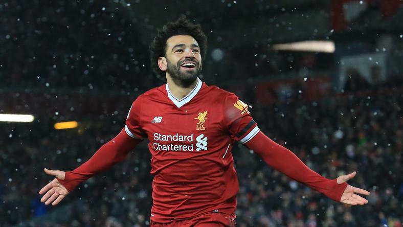 Salah strzela dwa gole w Champpions League