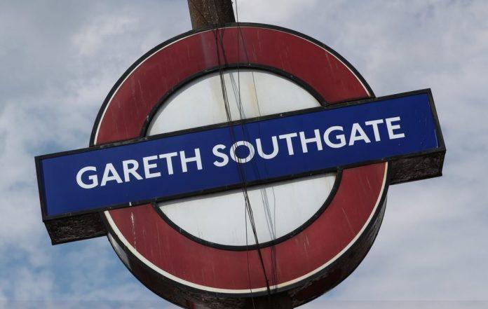 Gareth Southgate metro