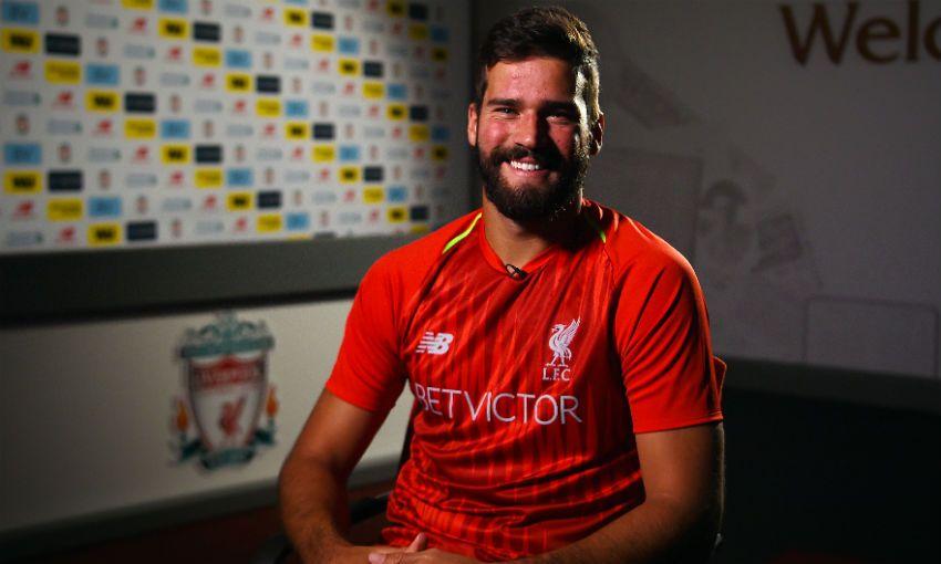 Alisson Becker Liverpool FC