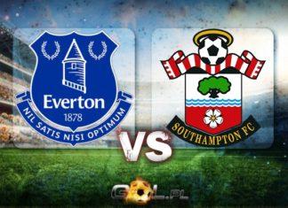 Everton FC vs Southampton FC Premier League TYPY