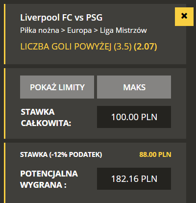 Liga Mistrzów TYPY do meczu Liverpool - PSG