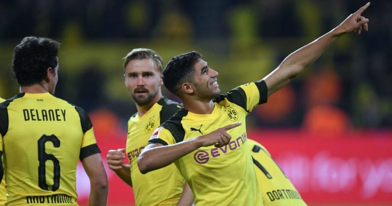 Achraf Hakimi zalicza trzy asysty w Champions League